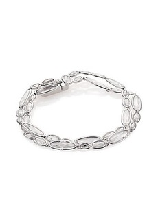 Adriana Orsini Sterling Silver Scales Two-Row Bracelet