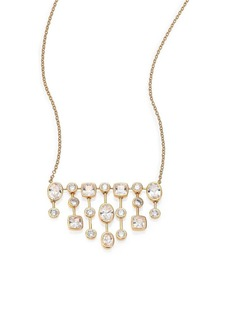 Adriana Orsini Sway Mixed Bezel Chandelier Necklace