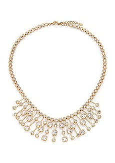 Adriana Orsini Sway Mixed Bezel Statement Necklace
