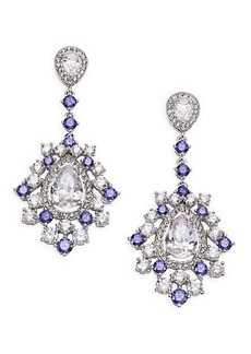 Adriana Orsini Sweet Embrace Cluster Linear Drop Earrings