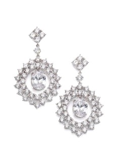 Adriana Orsini Sweet Embrace Nested Oval Drop Earrings