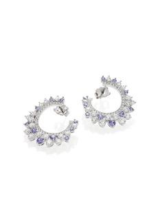 Adriana Orsini Sweet Embrace Swirl Earrings