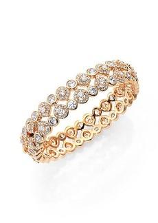 Adriana Orsini Teardrop Bangle Bracelet/Goldtone