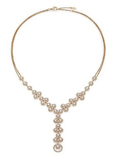 Adriana Orsini Teardrop Y Necklace/Goldtone