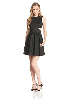 French Connection Women's Super Chick Fit-and-Flare Dress