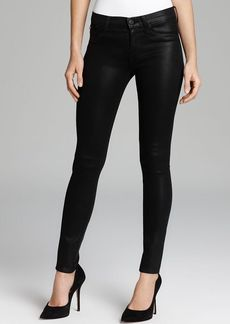 Hudson Jeans - Krista Super Skinny in Black Wax