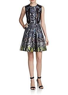 Diane von Furstenberg Ida Wool/Silk Dress