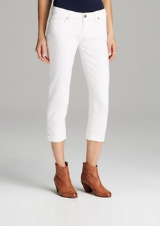 Paige Denim Jeans - Jimmy Jimmy Crop in Optic White