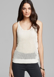 GUESS Tank - Mesh Stitch Relaxed