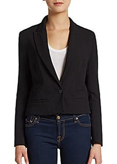 French Connection Ruth Peaked-Lapel Blazer