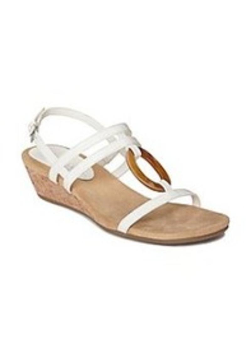 aerosoles aerosoles 174 quot alphabyet quot wedge sandals shoes