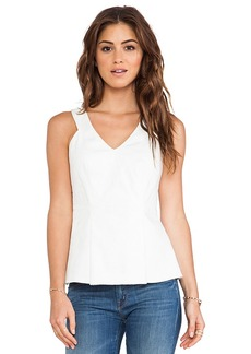 Rebecca Taylor Cut Out Tank in White