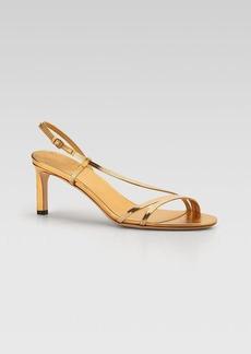 Gucci Othilia Mid Heel Evening Sandal