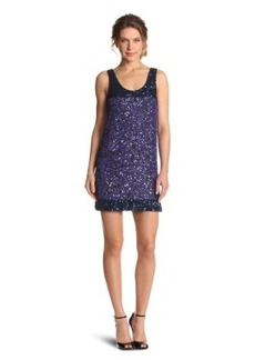 French Connection Women's Rainbow Sequins Dress