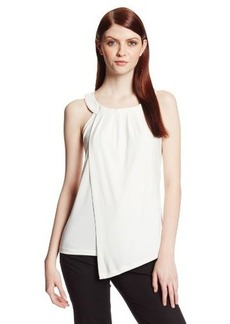 Calvin Klein Women's Sleeveless Double-Layer Top
