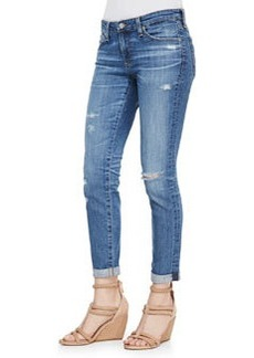 18 Year Fly Away Stilt Roll-Up Distressed Slim Jeans   18 Year Fly Away Stilt Roll-Up Distressed Slim Jeans