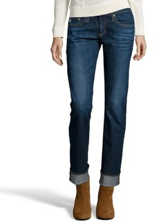AG Adriano Goldschmied 5 years origin dark blue 'tomboy' boyfriend jeans