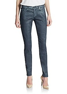 AG Adriano Goldschmied Absolute Coated Skinny Jeans