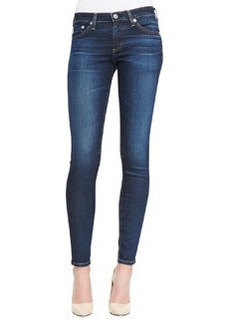 AG Adriano Goldschmied Absolute Skinny Cropped Jeans, 3 Years Propell Blue