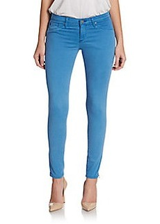 AG Adriano Goldschmied Ankle-Zip Skinny Jeans