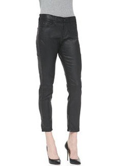 AG Adriano Goldschmied Beau Leatherette Slouchy Skinny Jeans