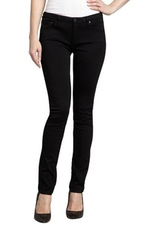 AG Adriano Goldschmied black stretch cotton 'The Legging' pants