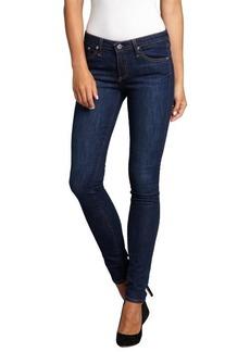 AG Adriano Goldschmied blue stretch denim 'The Legging' super skinny jeans