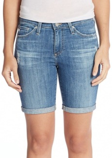 AG Adriano Goldschmied Brooke Denim Bermuda Shorts
