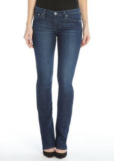 AG Adriano Goldschmied csb dark blue wash 'The Aubrey - Skinny Straight' jeans