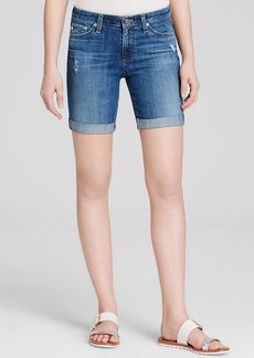 AG Adriano Goldschmied Denim Shorts - Brooke Rolled