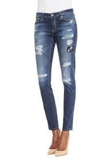 AG Adriano Goldschmied Digital Stilt Webber Patch Jeans