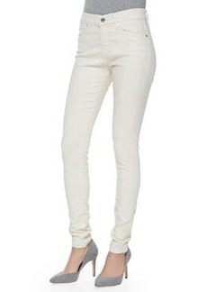 AG Adriano Goldschmied Farrah High-Rise Leatherette Jeans