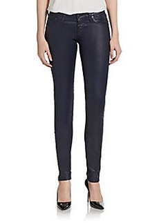 AG Adriano Goldschmied Faux Leather Legging Jeans
