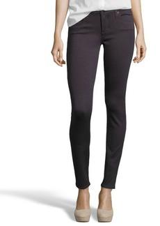 AG Adriano Goldschmied grey stretch knit 'The Legging' skinny jeggings