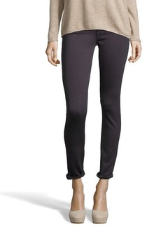 AG Adriano Goldschmied grey stretch knit 'The Legging' skinny jeggings