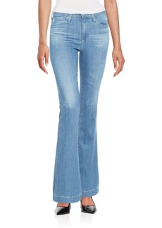 AG Adriano Goldschmied High-Rise Flared Jeans