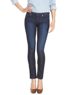 AG Adriano Goldschmied HRM dark blue 'The Stilt' cigarette leg stretch denim