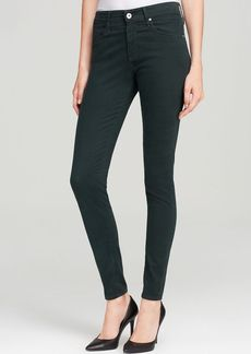AG Adriano Goldschmied Jeans - Bloomingdale's Exclusive Luscious Sateen Farrah High Rise Skinny in Rain Forest Green