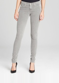 AG Adriano Goldschmied Jeans - Cordurory Legging in Pigment Forest Fog