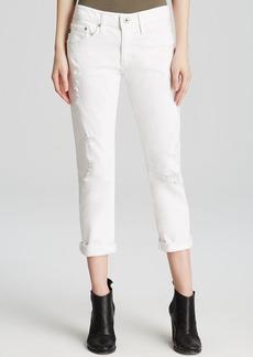 AG Adriano Goldschmied Jeans - Ex Boyfriend Slim in White Restored