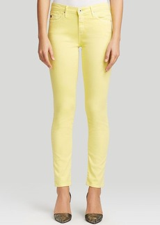 AG Adriano Goldschmied Jeans - Exclusive Prima Cigarette in Pigment Canary Yellow