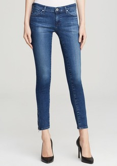 AG Adriano Goldschmied Jeans - Legging Ankle Zip in Rally