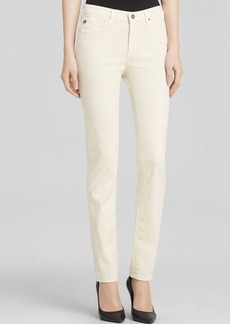 AG Adriano Goldschmied Jeans - Luscious Sateen Prima Cigarette in Cold Pigment Meadow Light