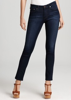 AG Adriano Goldschmied Jeans - Prima Mid Rise Cigarette in Jetsetter Wash