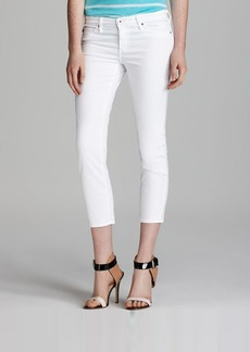 AG Adriano Goldschmied Jeans - Stilt Crop in White