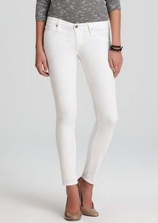 AG Adriano Goldschmied Jeans - The Legging Ankle in White