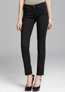 AG Adriano Goldschmied Jeans - The Prima Cigarette Cozy Twill in Black