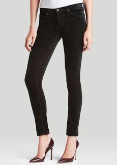 AG Adriano Goldschmied Jeans - Velvet Legging in Super Black