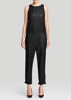 AG Adriano Goldschmied Jumpsuit - The Lucy Leatherette