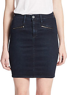 AG Adriano Goldschmied Kodie Denim Mini Skirt